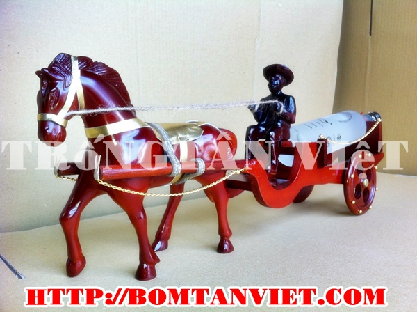 trống ngựa kéo rượu là sản phẩm mới